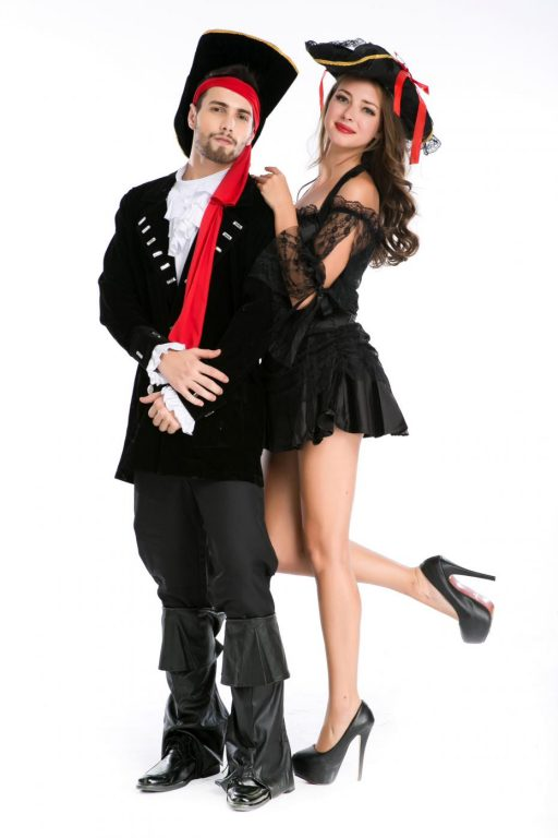 Pirate Black Sexy  Couple costumes 4