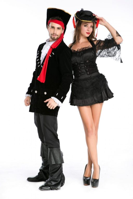 Pirate Black Sexy  Couple costumes 5