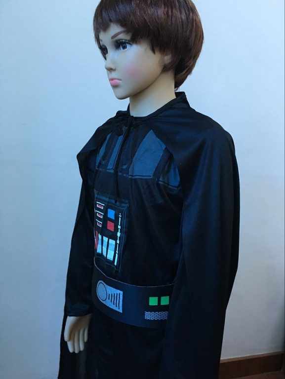 Star War Darth Vader Cosplay Costume For Kids 3