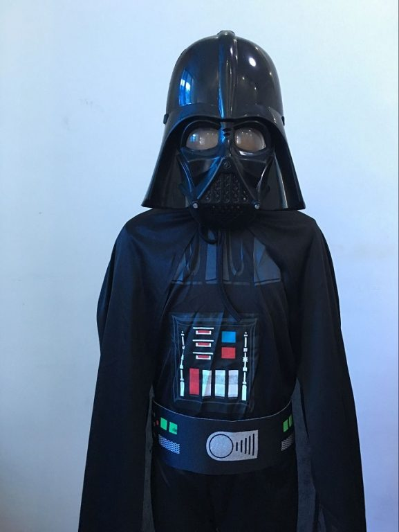 Star War Darth Vader Cosplay Costume For Kids 4