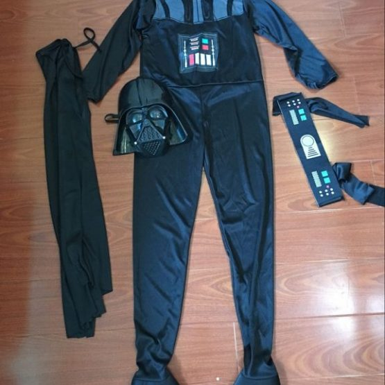 Star War Darth Vader Cosplay Costume For Kids 9