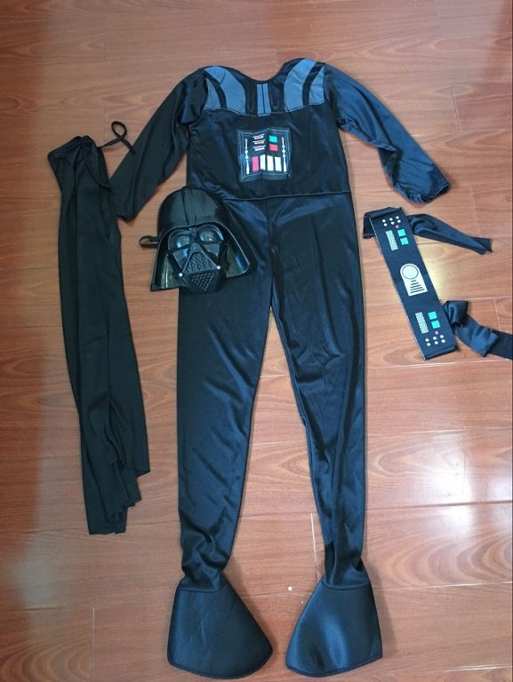 Star War Darth Vader Cosplay Costume For Kids 5