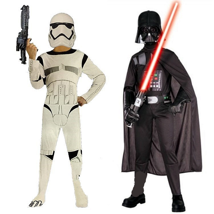 Star War Darth Vader Cosplay Costume For Kids 1