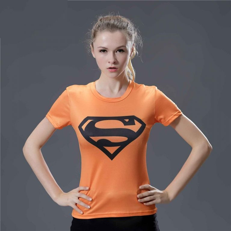Compression-Shirt-Iron-Man-3D-Printed-T-shirts-Women-Slim-Short-Sleeve-Captain-America-Cosplay-Costume