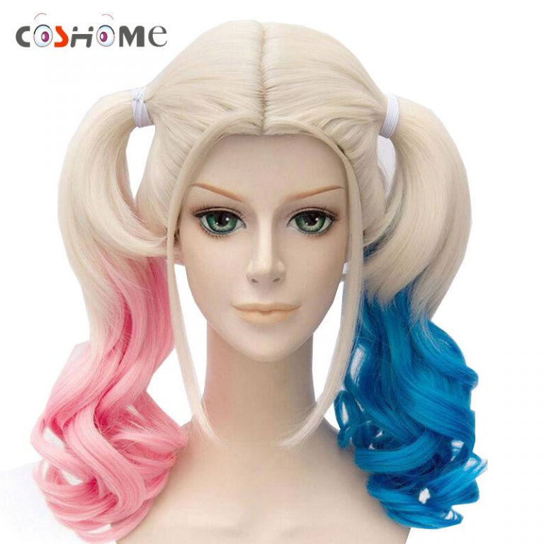 Suicide Squad Harley Quinn Wigs 16