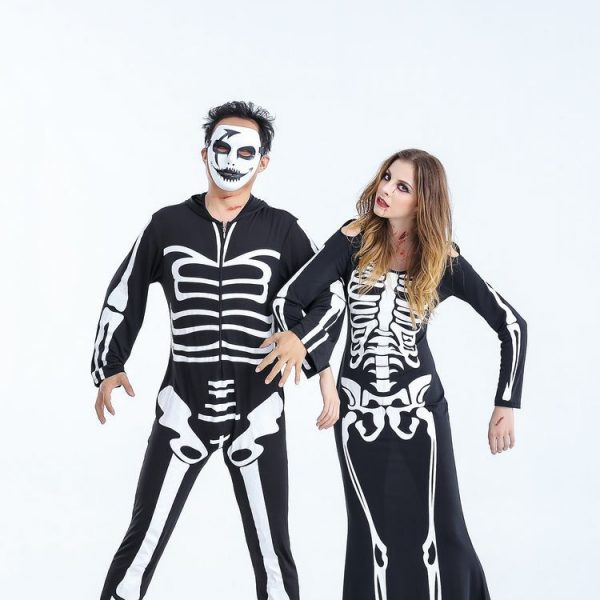 Skeleton Costume for Couples 4