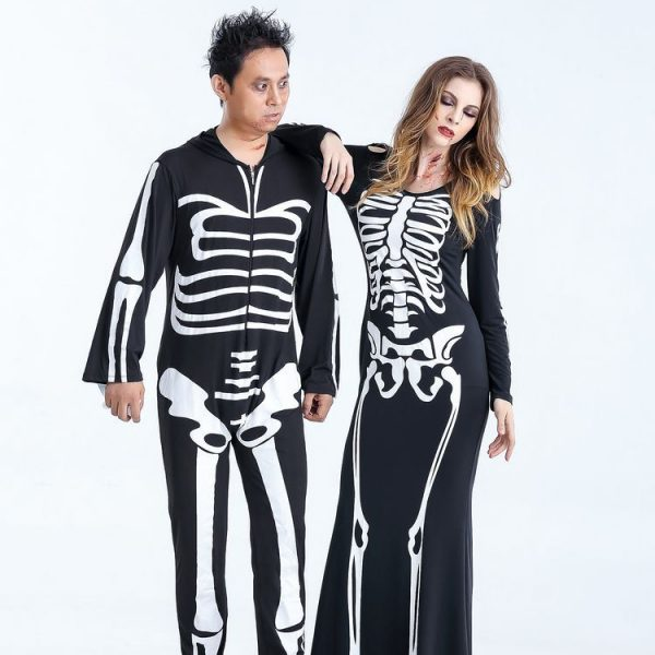 Skeleton Costume for Couples 5