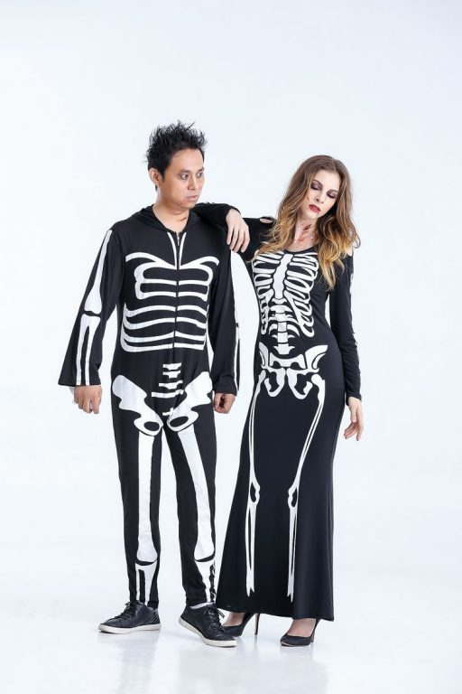 Skeleton Costume for Couples 3