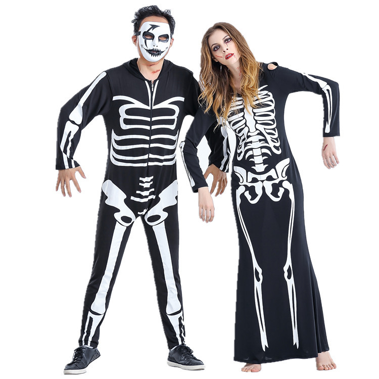 Skeleton Costume for Couples 1
