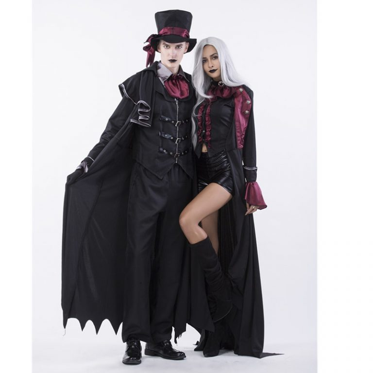Halloween Sexy Vampire Costume for Couples 2