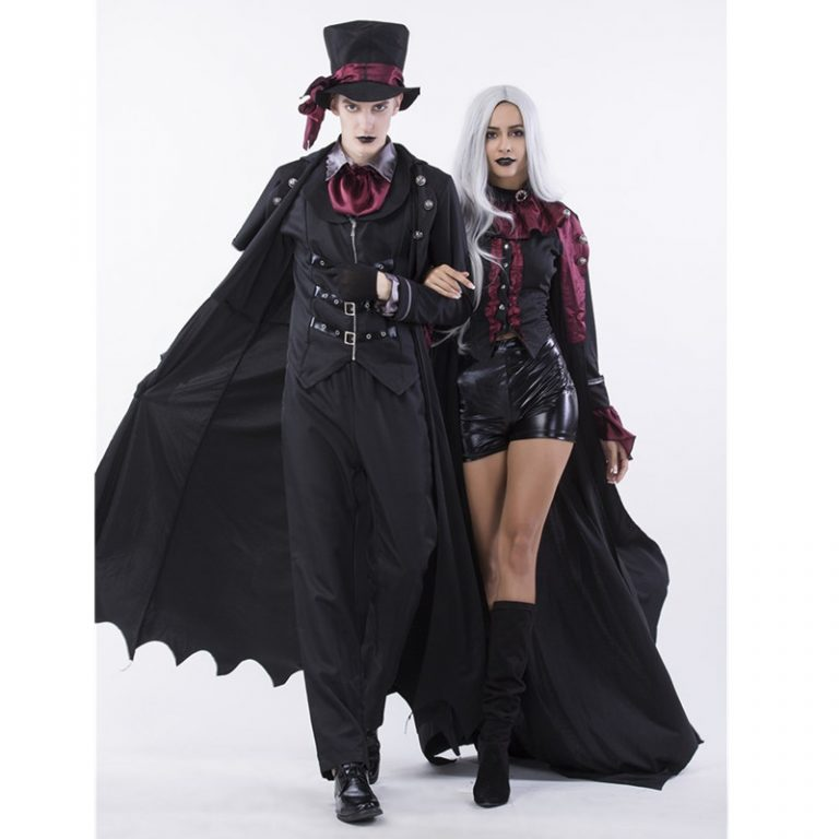 Skeleton Costume for Couples 9
