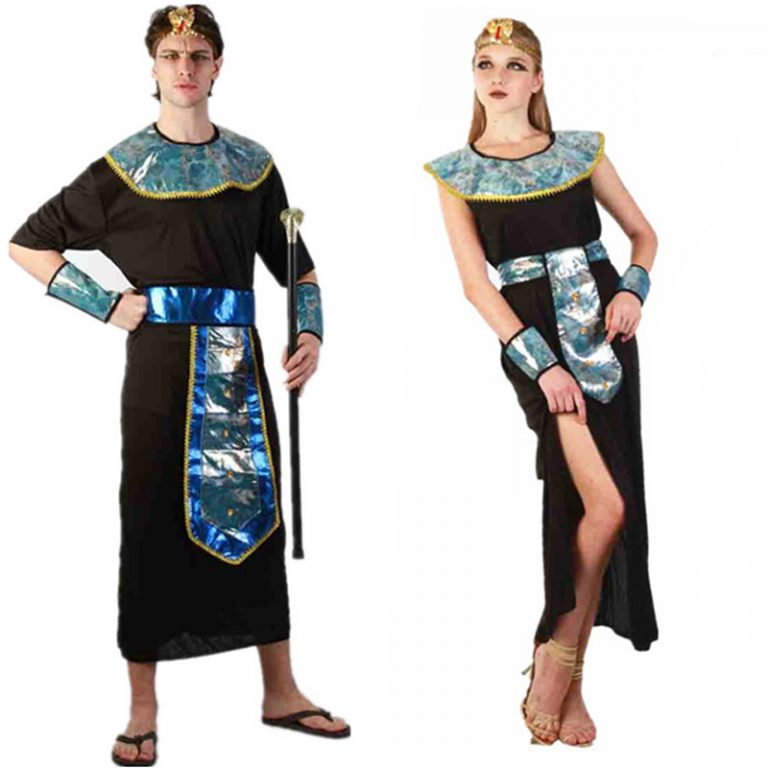 Egyptian Couple Costumes For Adults 1
