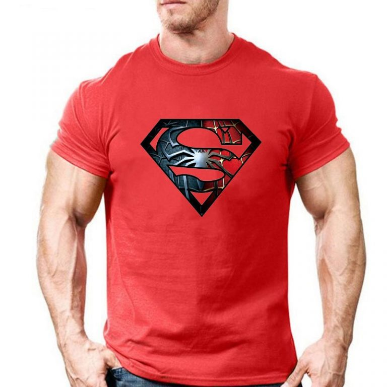 Eqmpowy-2017-New-Fashion-Spiderman-Superman-Cotton-T-Shirt-Short-Sleeve-Casual-t-shirt-superhero-tops-1