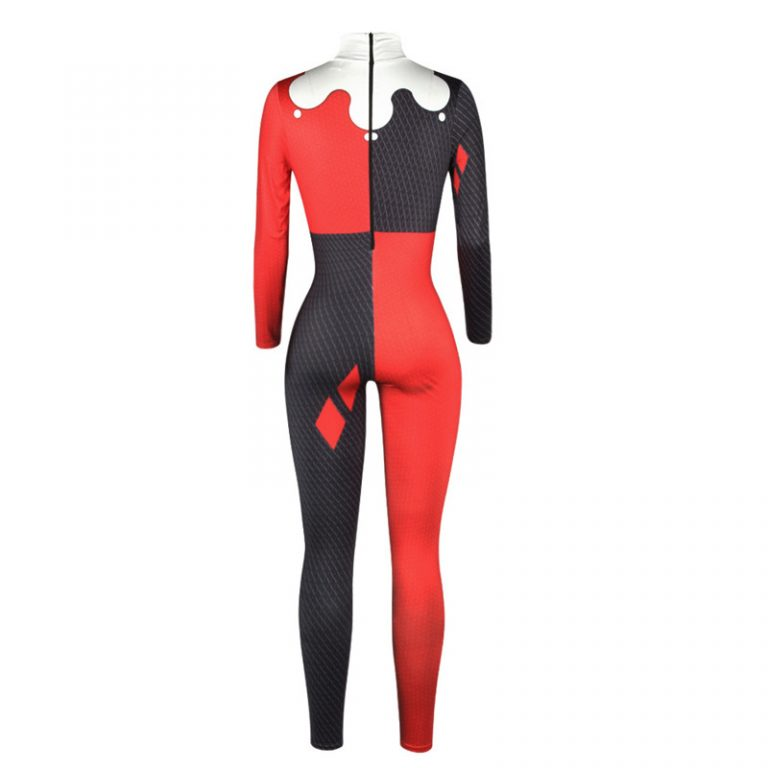 Harley Quinn Costumes Jumpsuits 4