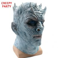 Horrible Creepy Toothy Ghost Mask for Halloween 13