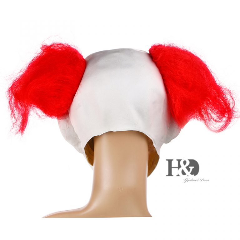 Funny Clown Mask With Red Nose for Adults 3