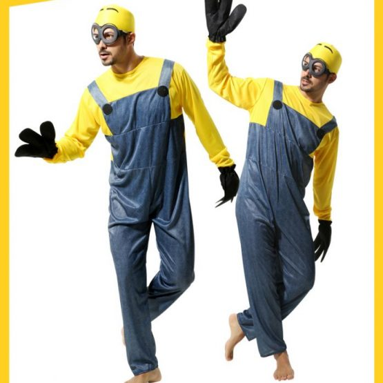 Minions Jumpsuits For kids & Adults 7
