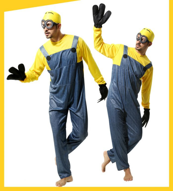 Minions Jumpsuits For kids & Adults 3