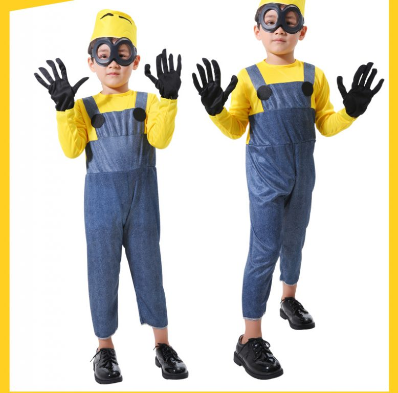 Minions Jumpsuits For kids & Adults 4