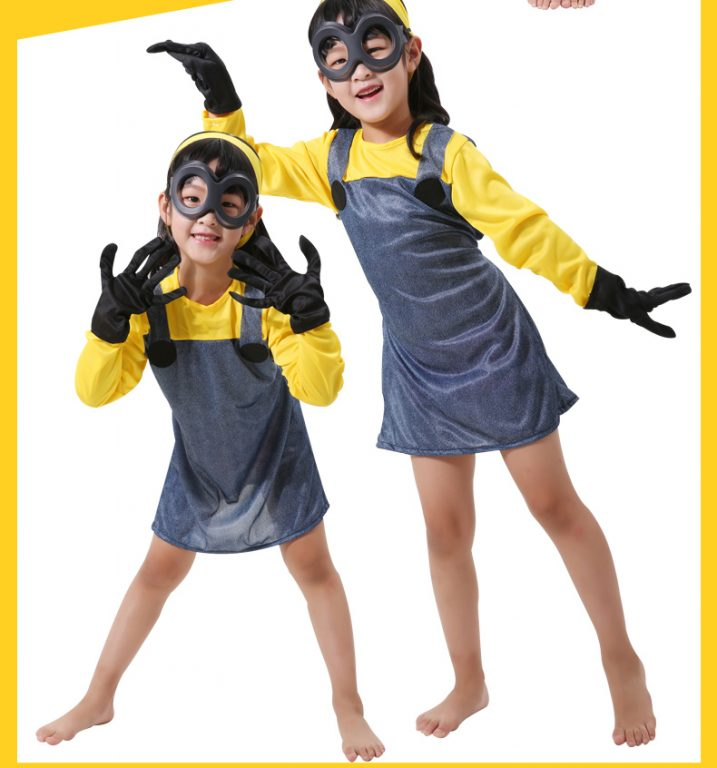 Minions Jumpsuits For kids & Adults 5