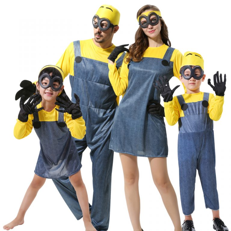 Minions Jumpsuits For kids & Adults 1