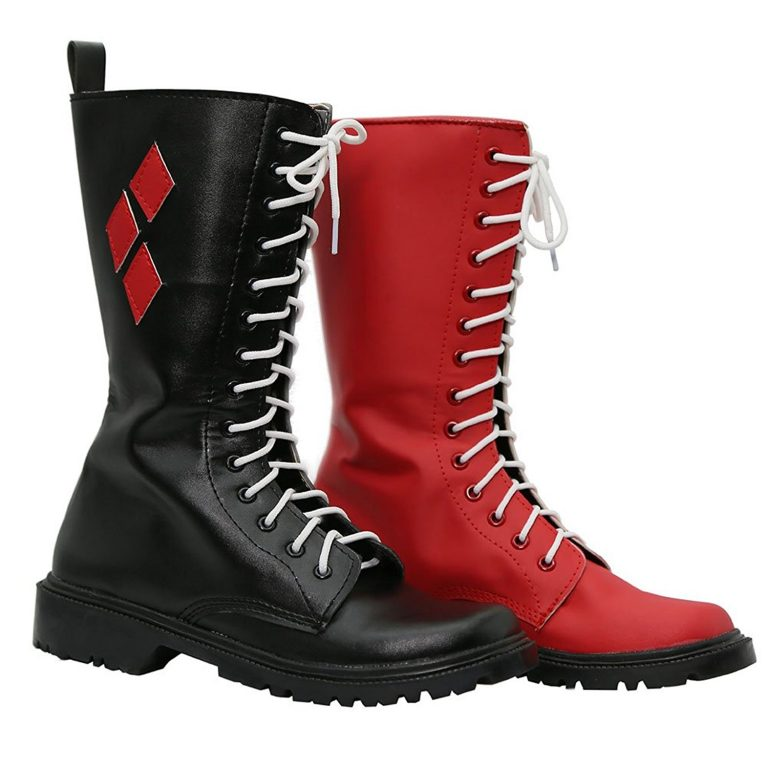Harley Quinn Cosplay Shoes 3