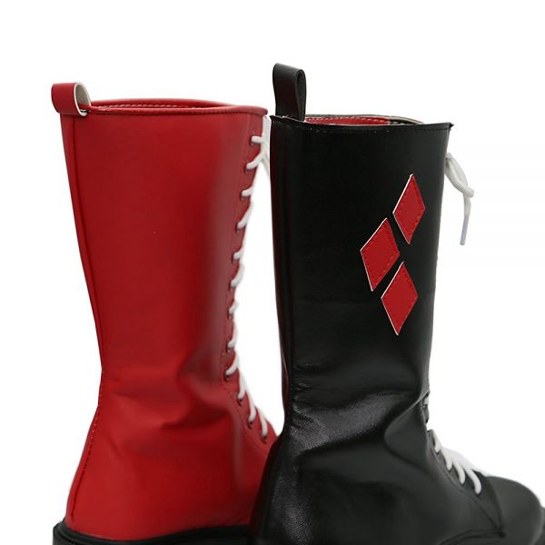 Harley Quinn Cosplay Shoes 7