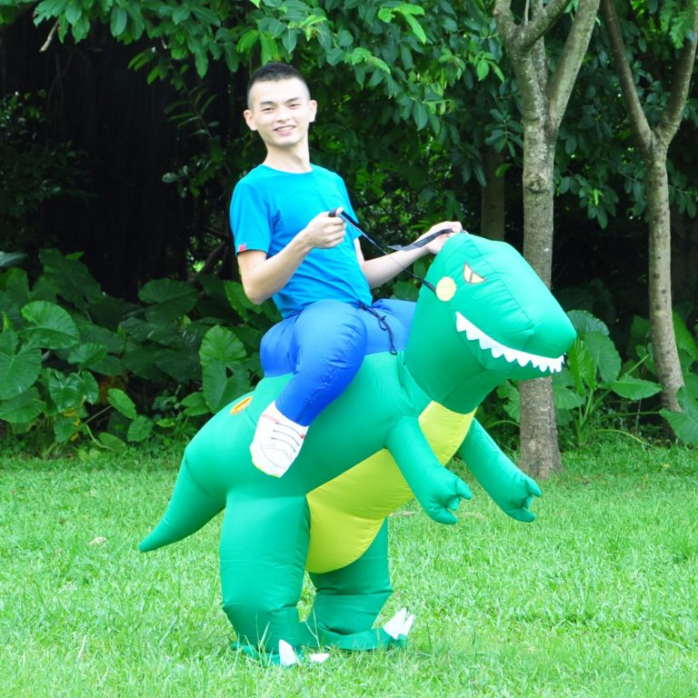 Inflatable Dinosaur Costume for Adult 2