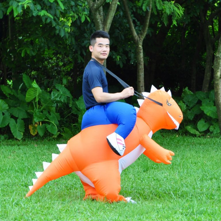 Inflatable Dinosaur Costume for Adult 1