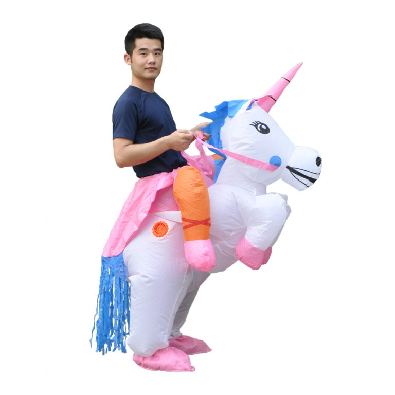 Inflatable Unicorn Costumes for Adults 3