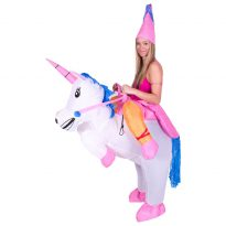 Bull Rider on Cattle Inflatable Outfit for Adult 9