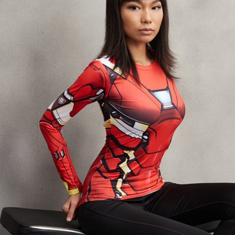 Captain America 3D Printed T-shirts for Women 1