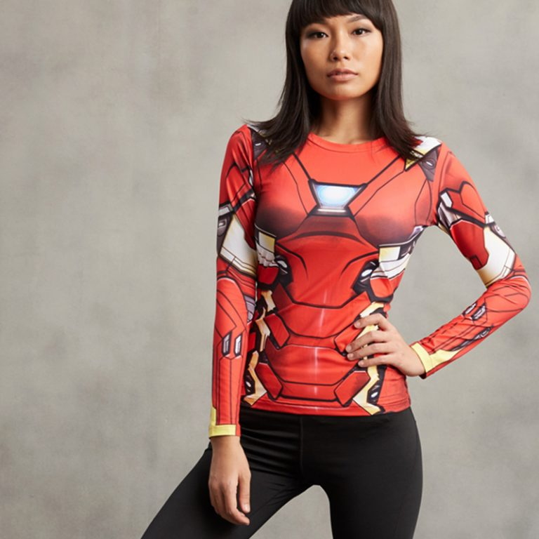 Captain America 3D Printed T-shirts for Women 3