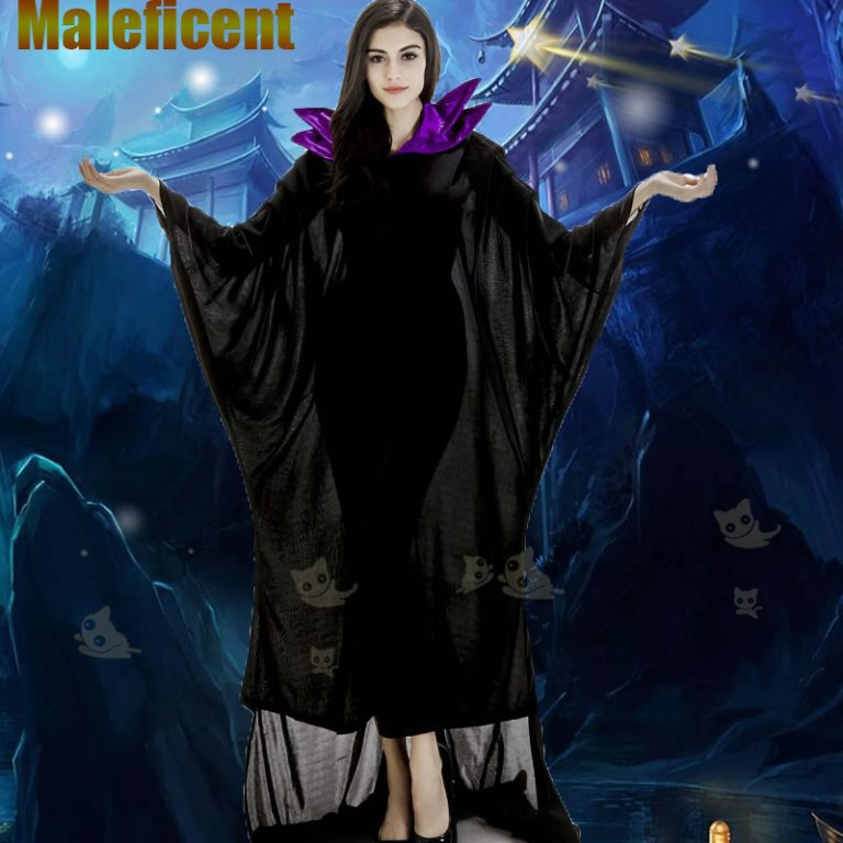 Maleficent Witch Costume for Women 3