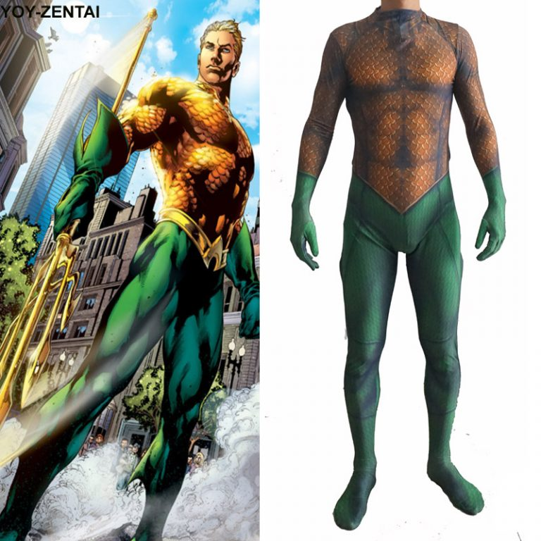 High Quality Aquaman Costume 14