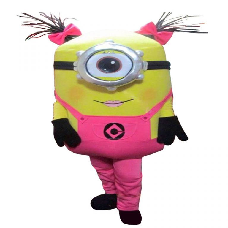 Pink Minions Costume for Girls 3