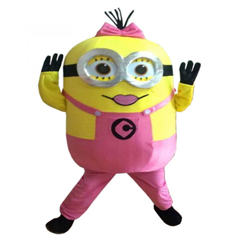 Pink Minions Costume for Girls 9