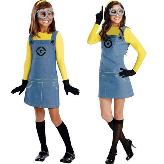 Minion Costume For Kids/Adults 7