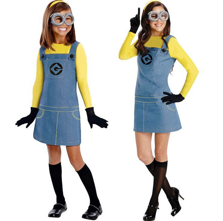 Minion Costume For Kids/Adults 2