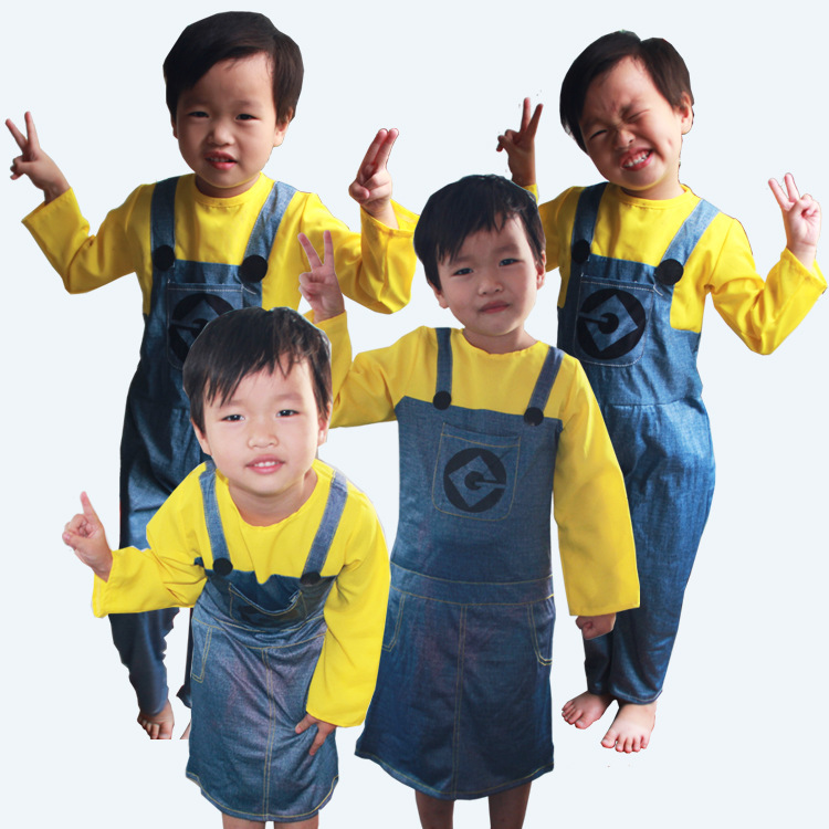 Minion Costume For Kids/Adults 3