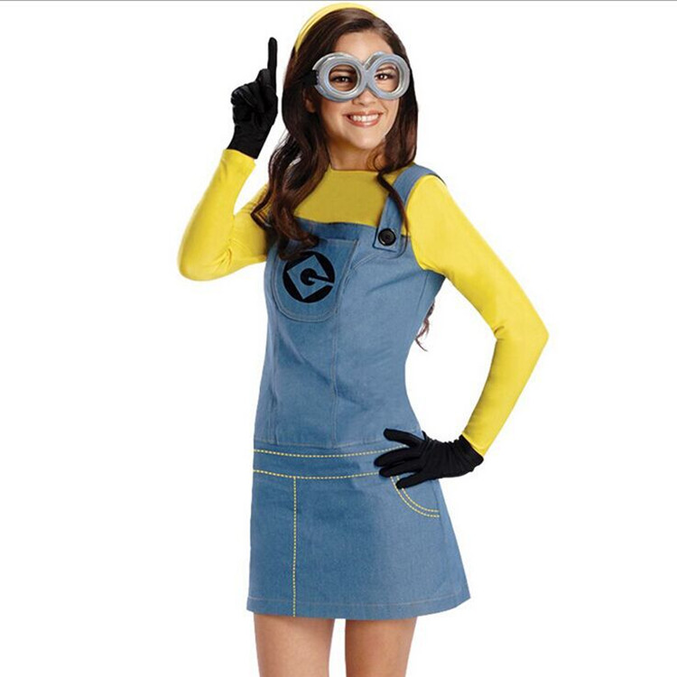 Minion Costume For Kids/Adults 5
