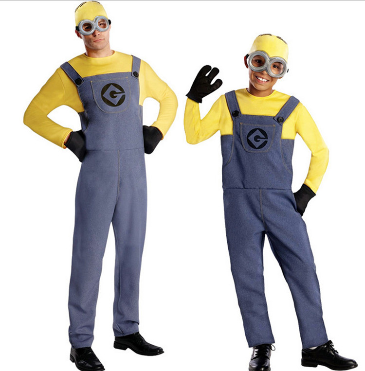 Minion Costume For Kids/Adults 1