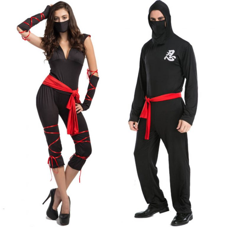 Ninja Couple Costume  for Halloween 1