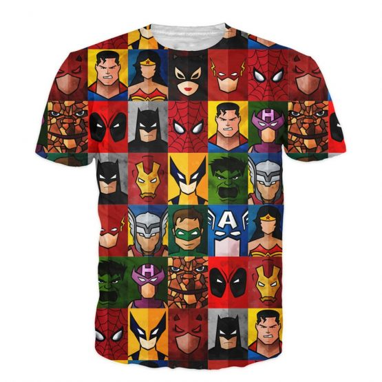 PLstar-Cosmos-2017-New-Hipster-3D-t-shirt-Funny-Superhero-T-Shirt-Deadpool-Superman-Spider-Man