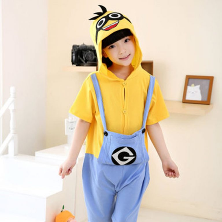 Summer Short Minions Costume For Kids 1