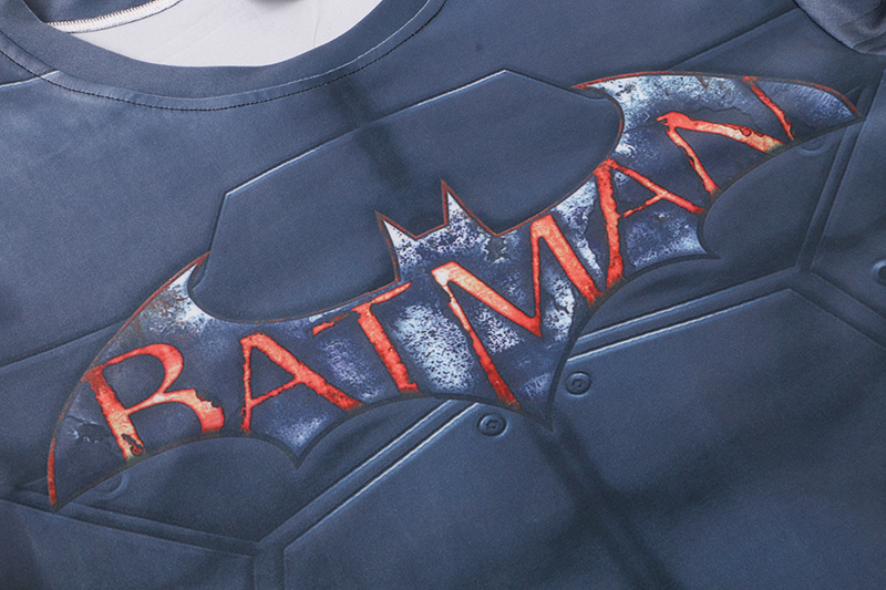Superhero Batman 3D Printed Long Sleeve T-shirts 3