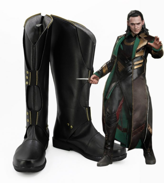 Loki costume Prince Boots for Adults 4