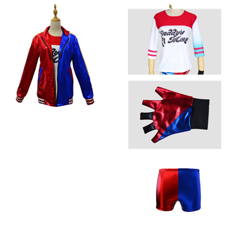 Suicide Squad Harley Quinn Costume Jacket for Kids 3