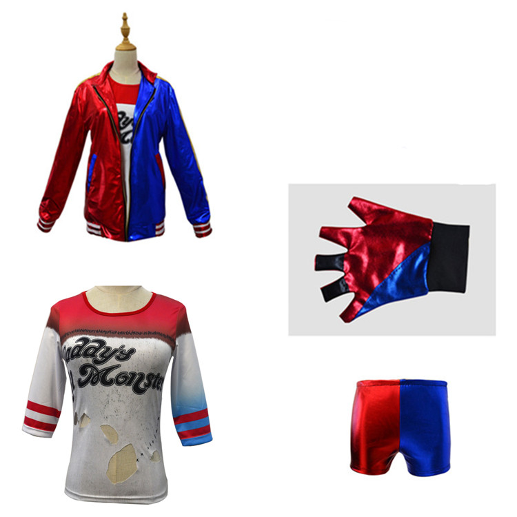 Suicide Squad Harley Quinn Costume Jacket for Kids 6