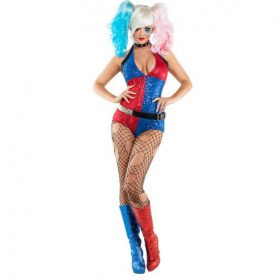 Harley Quinn  Sexy Costume for Halloween 5